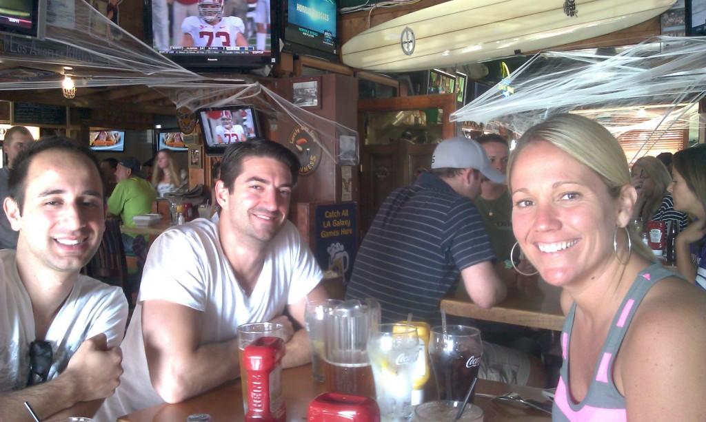 Pub peddle stop at OB's